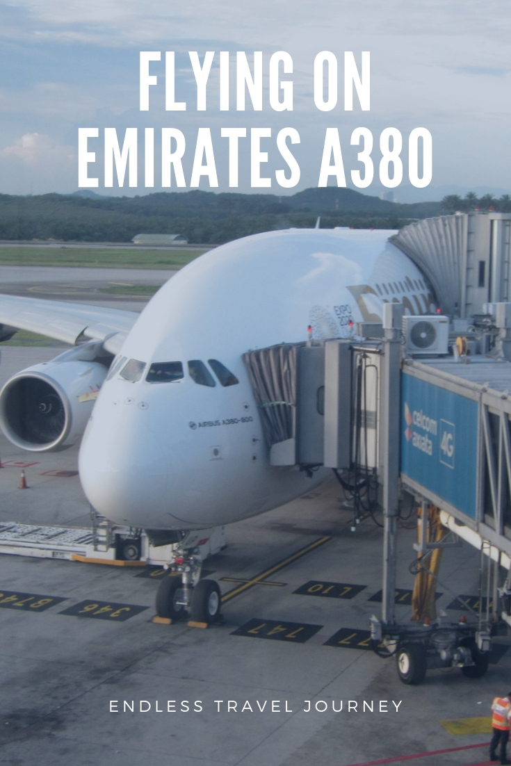 flying on emirates a380